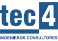 Image of the Tec Cuatro logo