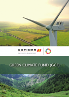 Front cover of UN Green Climate Fund brochure COFIDES